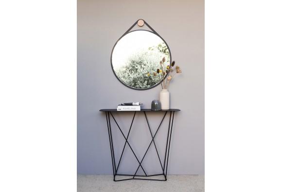 Miroir Rond Métal Design Armand