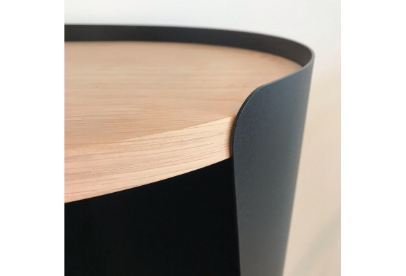 Armand TV Cabinet Oak wood - Résistub Productions