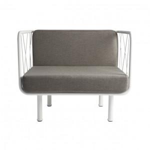 Jalousy outdoor armchair - Résistub Productions
