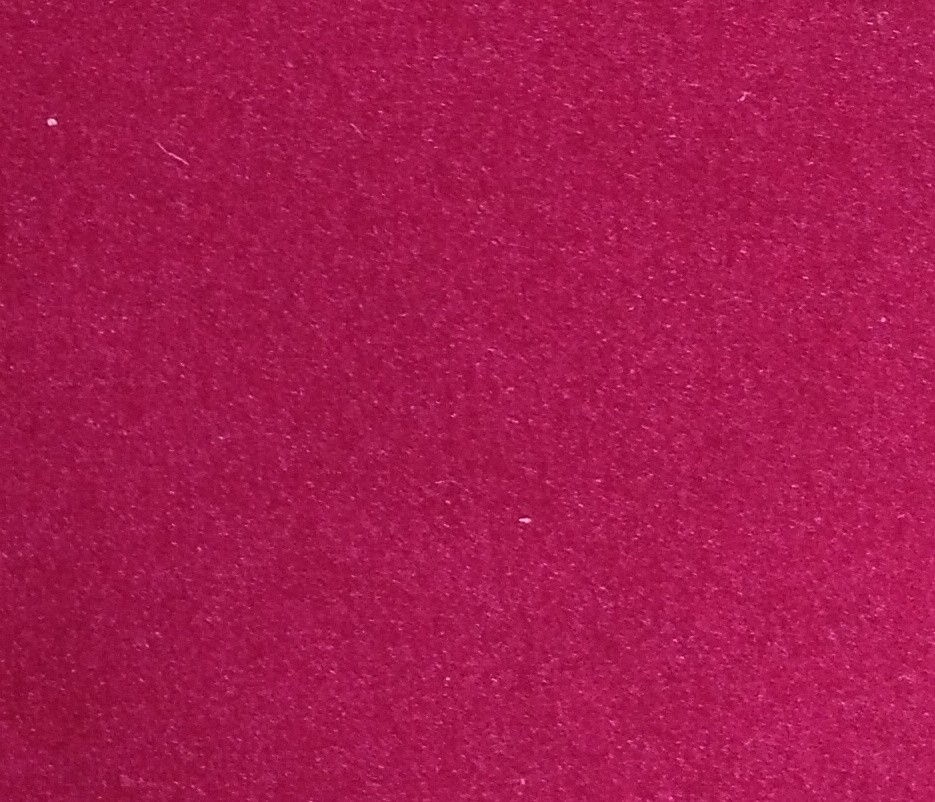 Velours rouge 1606