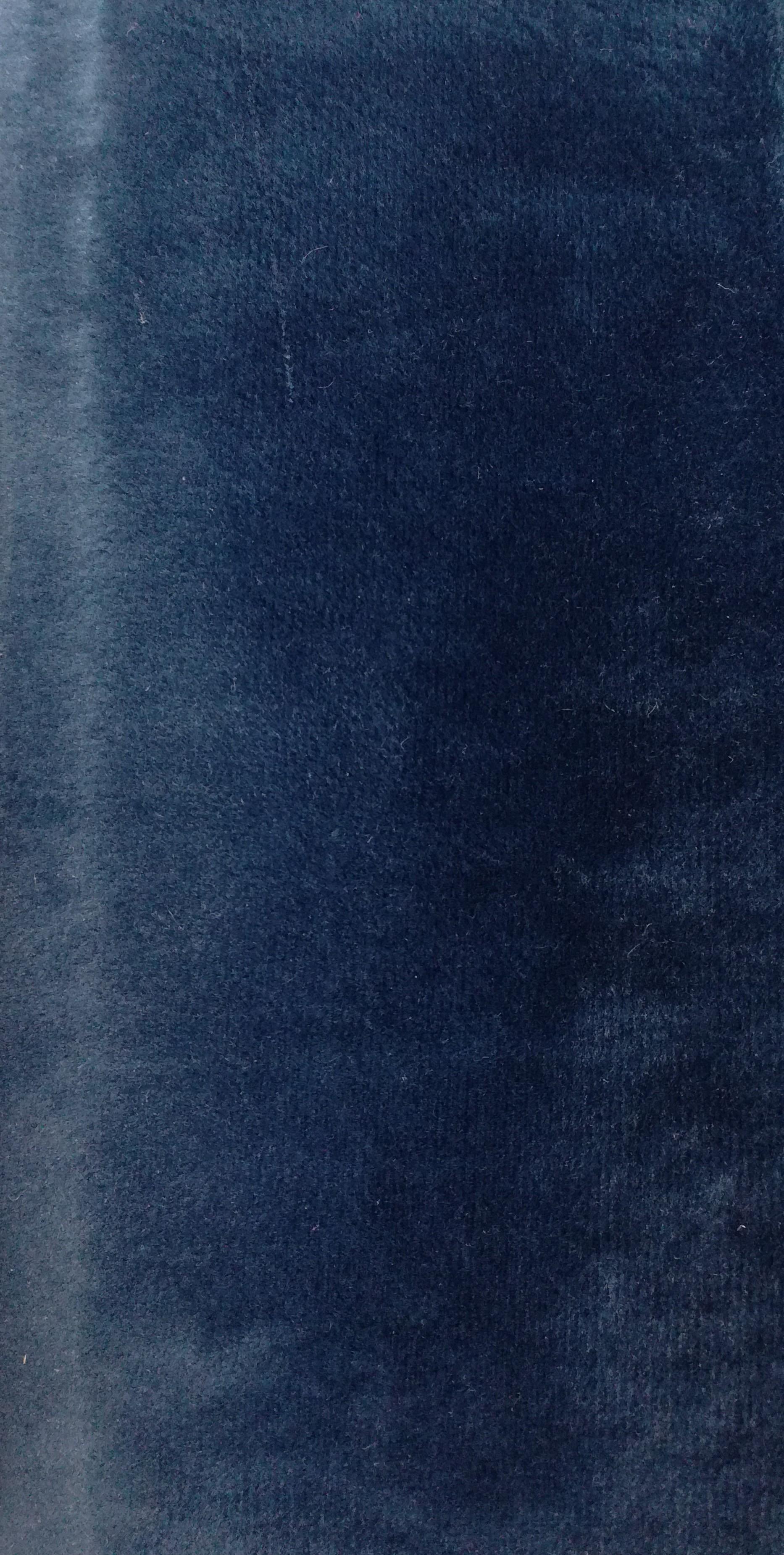Velours bleu 1608